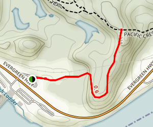 Tamanous Trail 27 Map