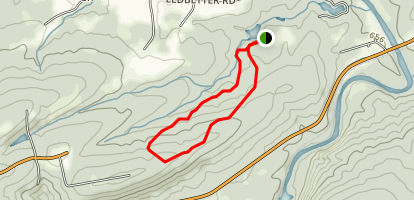 Mayo Mountain Loop Trail Map