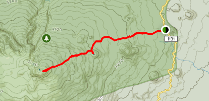 Hallsan Mountain Trail Map