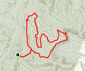 Sandstone Canyon Trail Map