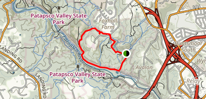 Soapstone Trail to Grist Mill Trail Loop Map