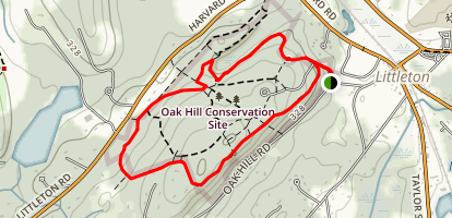 Oak Hill Map