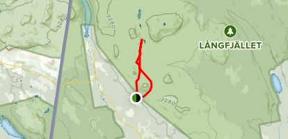 Lövåsen Loop Trail Map