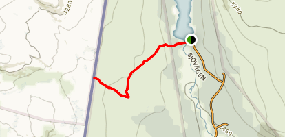 Silverfallet Trail Map
