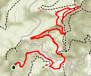 Griffith Observatory Peak Trail Map
