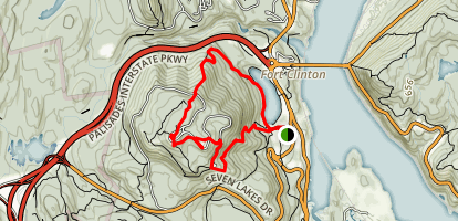 Bear Mountain Loop Trail Map