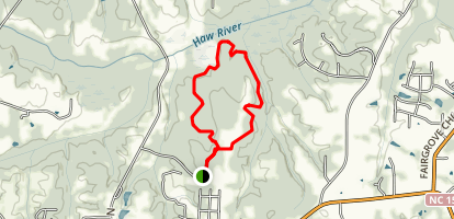 Great Blue Heron Loop Trail Map