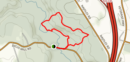Severn Run Environmental Area Trail Map