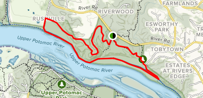 Blockhouse Point Loop Trail Map