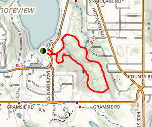 Snail Lake Trail Map