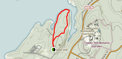 Wachusett Reservoir and Reservation Trail Map