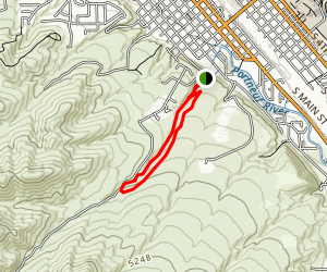 City Creek Beginner Loop Trail Map