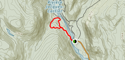 Les Cascades Map