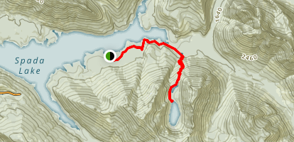 Greider Lakes Trail Map