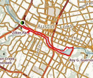 Towne Lake Austin Trail Map