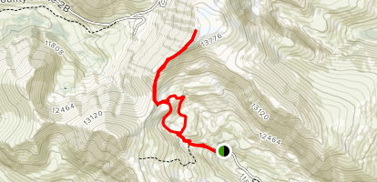 Mount Sherman Trail Map