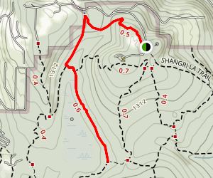 Klondike Swamp Trail Map