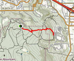 Surprise Creek Trail Map