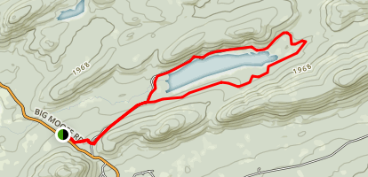 Cascade Lake Trail Map