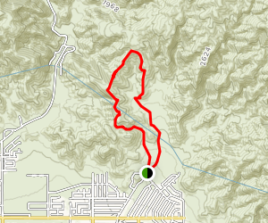 Blind Canyon Trail Map