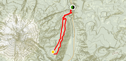Elk Meadows Loop Map