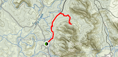 Devils Bridge Trail Map