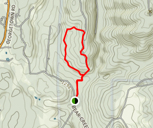 Stifle Claim Trail to Traverse Creek Loop Trail Map