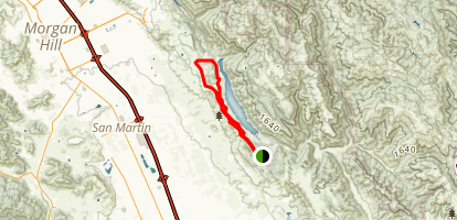 Coyote Lake County Park Campgrounds Trail Map