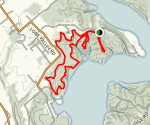Green River Lake Trail Map