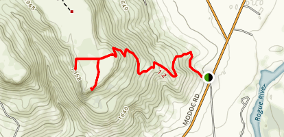 Upper Table Rock Trail Map