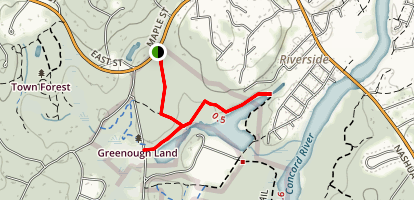Greenough Trail Map