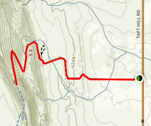 Coyote Ridge Trail Map