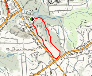 Reynolda House Gardens & Trail Map