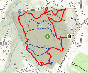Arnold Trails Loop Map