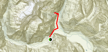 Glacier Burn Track Map