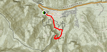 Echo Overlook Trail Map
