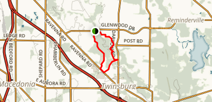Center Valley Park Trail Map