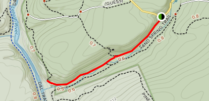 Hickory Run Trail Map