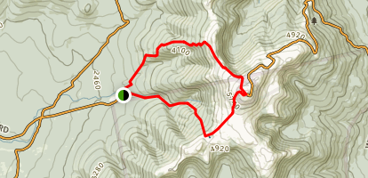 Mt. Washington via Jewell Trail, Gulfside Trail and Crawford Path Map
