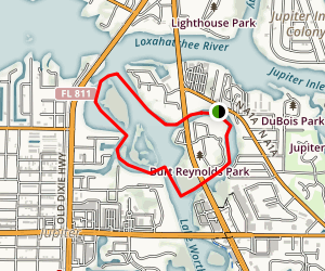 Jupiter Intercoastal Waterway Map