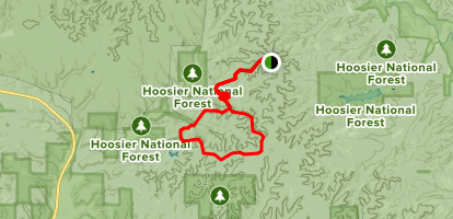Hickory Ridge Trail Map