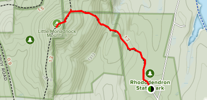 Little Monadnock Mountain Trail Map