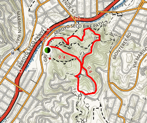 City View and Walnut Forest Trails Map