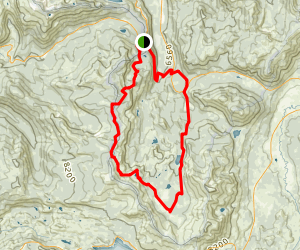 Tahoe Rim Trail Trt Big Meadow To Echo Summit Loop Map