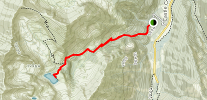 Cathedral Lake Trail Map