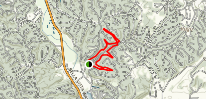 Blowing Springs Trails Loop Map
