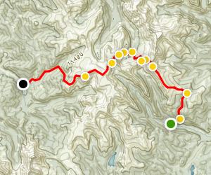 Red Cone Radical Hill &The Swan 4x4 Trail Map