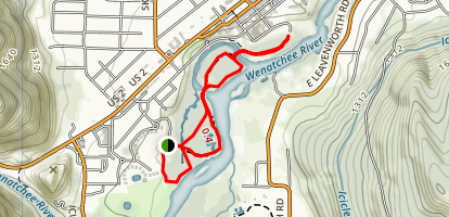 Blackbird Island Trail Map