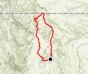 Ruby Wash and Big Hole Wash Trail Map