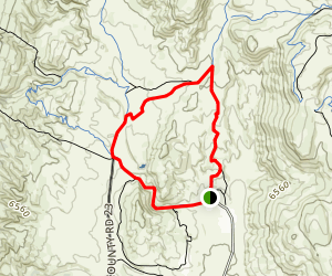 Ruby Wash and Big Hole Wash Short Loop Trail Map